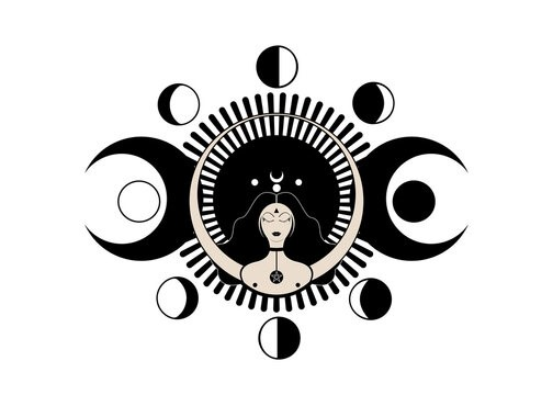 The Goddess and Her Lunar Cycles